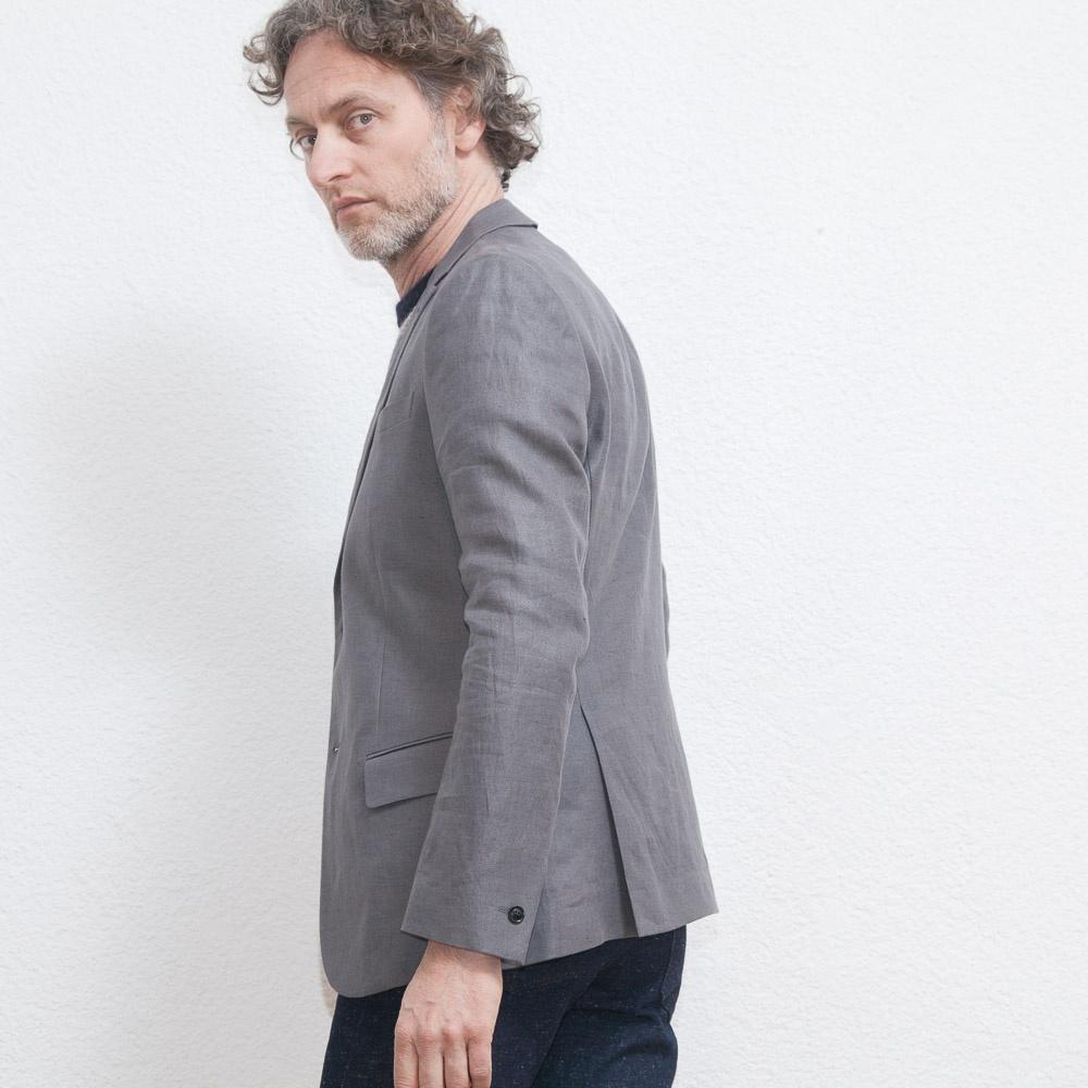 9d063e8a M. Rick Linen Suit Jacket. FILIPPA K